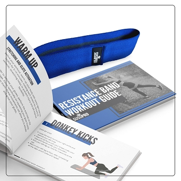 Blue Heavy Resistance Band